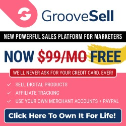 GrooveSell Free Lifetime Giveaway